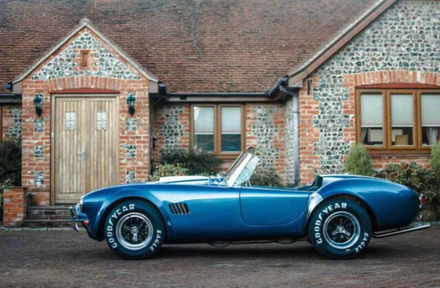 An AC Cobra is transformed after new owner is inspired by Redline's restoration expertise