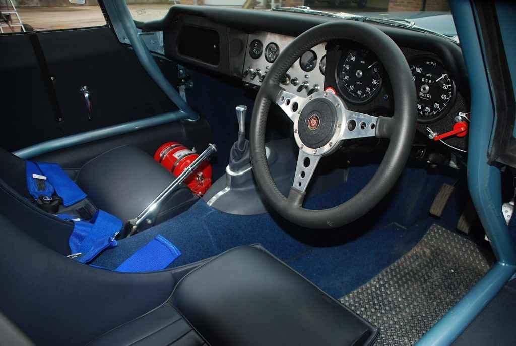 Car Body Parts >> Jaguar E-Type classic car Semi Lightweight Competition Car