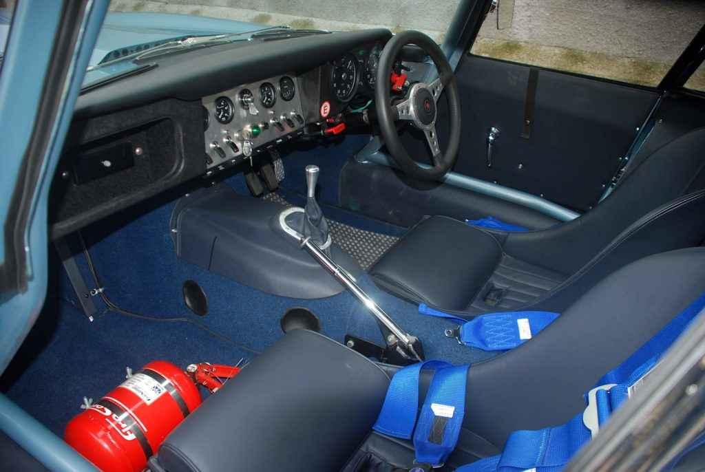 FOR SALE: Jaguar E Type Silver Blue