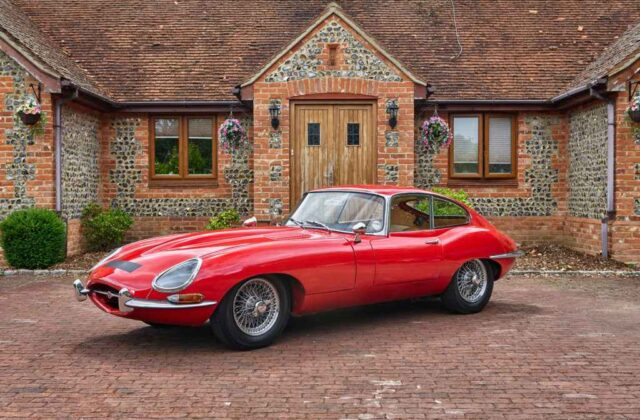 Jaguar e-type FHC for sale