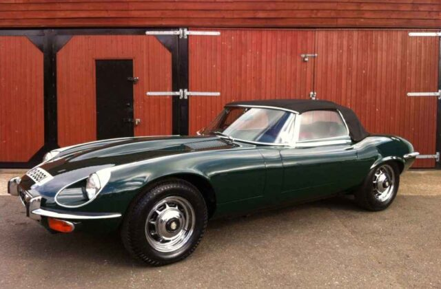 Classic Jaguar E Type gets the attention it deserves