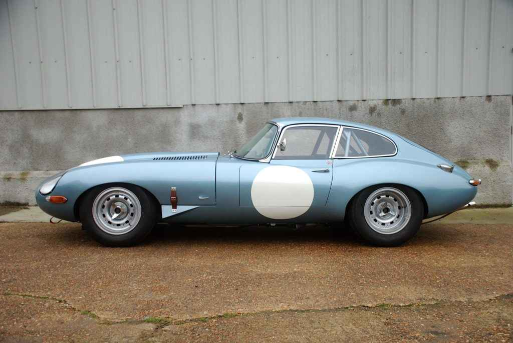 FOR SALE: Jaguar E Type Silver Blue