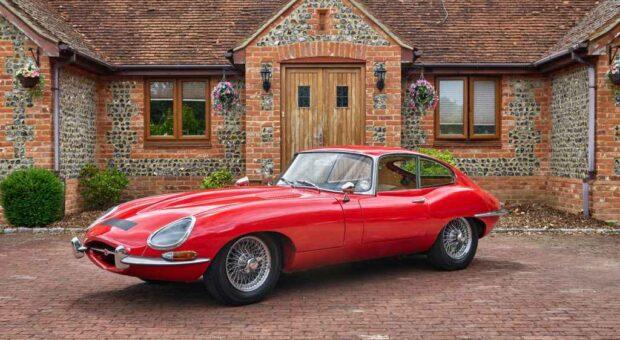 Jaguar e-type FHC for sale
