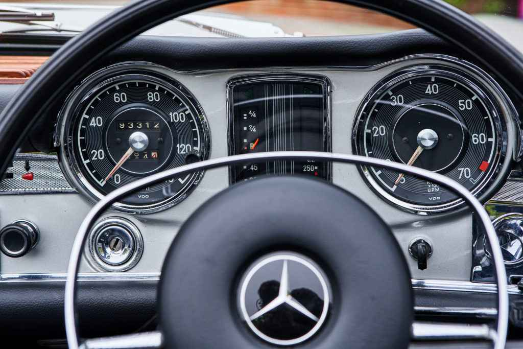 mercedes 280sl interior for sale