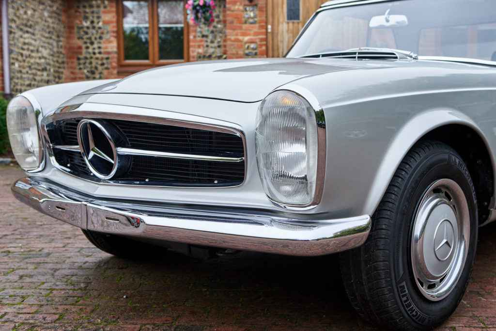 mercedes 280sl pagoda for sale in surrey