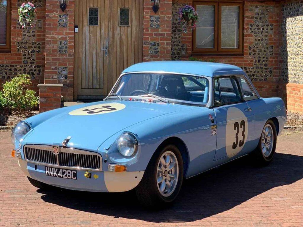1965 Fia Pull Handle MCB race car